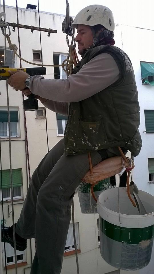 Trabajos verticales zona Sur Alcru, trabajos en lugares de difícil acceso, trabajos verticales sin andamio