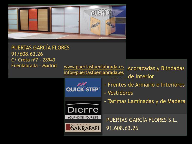 Puertas Garcia Flores: especialistas en puertas en Fuenlabrada